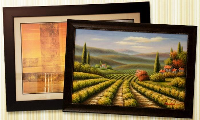 Art Heads Custom Framing - Multiple Locations: $29 for $110 Worth of Custom Framing at Art Heads Custom Framing