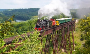Boone & Scenic Valley Railroad & Museum: Train Ride and Museum Visit for Two or Four at Boone & Scenic Valley Railroad & Museum (Up to 45% Off)