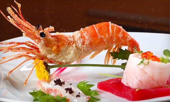 Tokyo Steak House and Sushi Bar - North Shoal Creek: Teppanyaki Food and Sushi for Dinner Menu or Lunch Menu at Tokyo Steak House and Sushi Bar (Half Off)