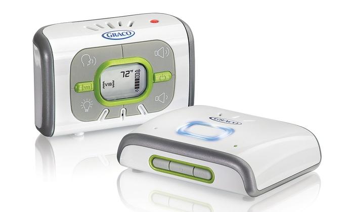 graco digital baby monitor groupon goods. Black Bedroom Furniture Sets. Home Design Ideas