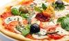 Centrum Alkmaar: Pizza + drankje
