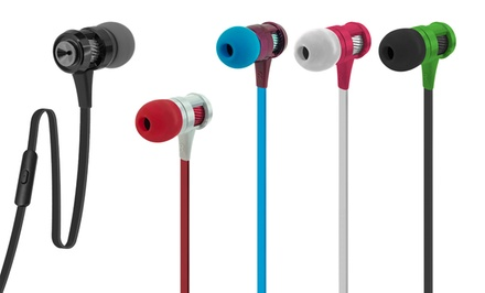 2 Pairs of Case Logic 800 Series Earbuds with Microphone