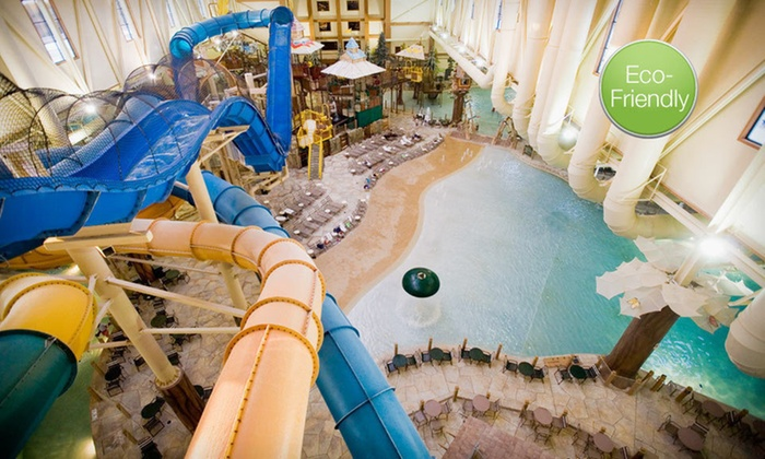 Great Wolf Lodge Cincinnati/Mason - Mason: Two-Night Stay with Six Water-Park Passes and One Lunch for Six at Great Wolf Lodge Cincinnati/Mason in Mason, OH