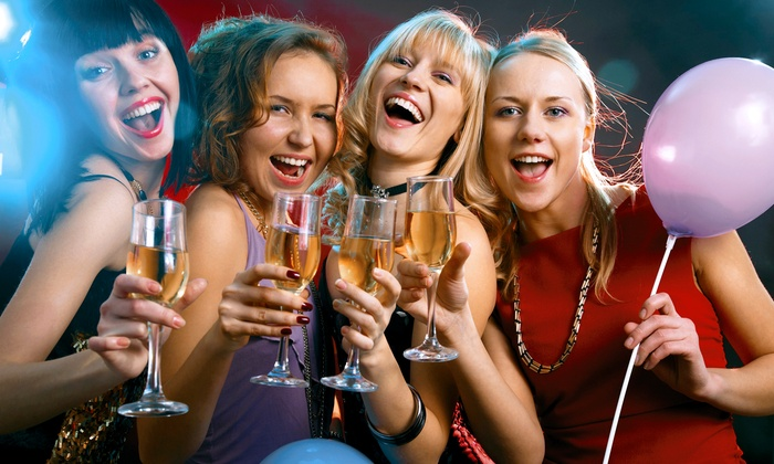 Sin City Parties - Enterprise: Bachelorette Party Package with Limo Ride and Male Revue for 6, 8, or 10 from Sin City Parties (Up to 52% Off)