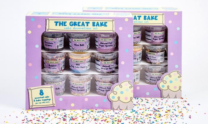 Cake Decorating Kit Groupon : Edible Cupcake Decorations Kit Groupon Goods