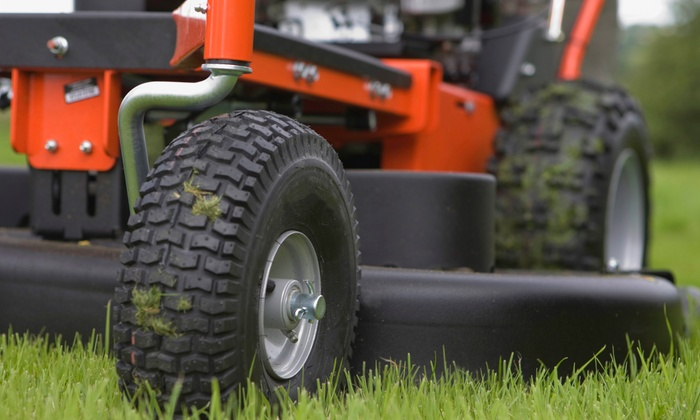 Ricky's Lawn Services - Tulsa: Two or One 60-Minute Mowing and Edging Sessions from Ricky's Lawn Services (61% Off)