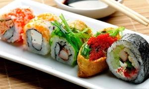 Hanami Sushi: Smaki Japonii w Hanami Sushi: 27 zł za groupon wart 50 zł i więcej opcji na dowolne sushi z menu (do -47%)
