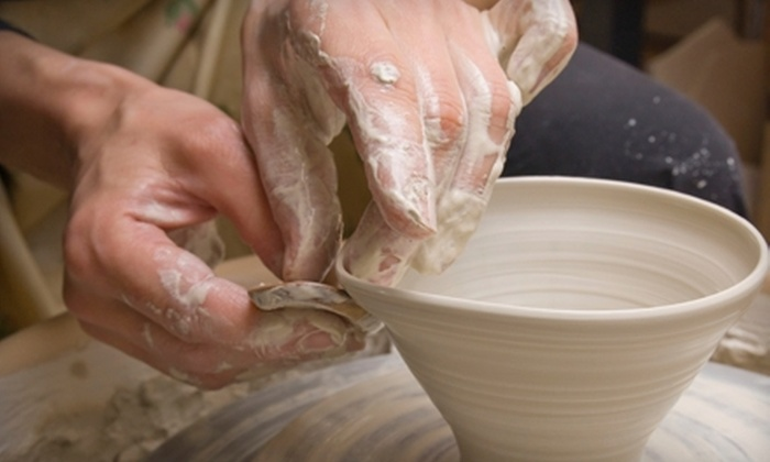 Haven Art - Port Washington: Pottery Class with Materials for One, Two, or Four or a Private Pottery Party for Up to Six at Haven Art (Up to 58% Off)