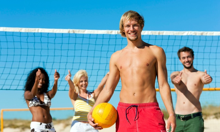 Stratford Sand Volleyball - Fenton: Friday-Night Tournament for Two or Four at Stratford Sand Volleyball (Up to 60% Off)