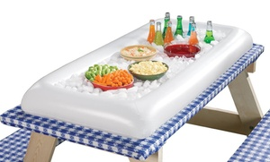 Inflatable Serving Bar With Drain Plug