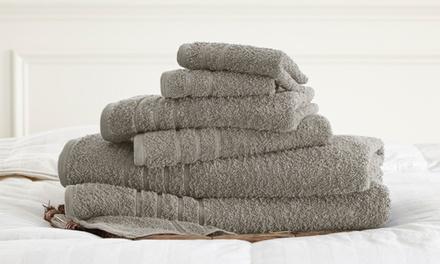 Spa Collection 6-Piece 100% Cotton 600GSM Towel Set
