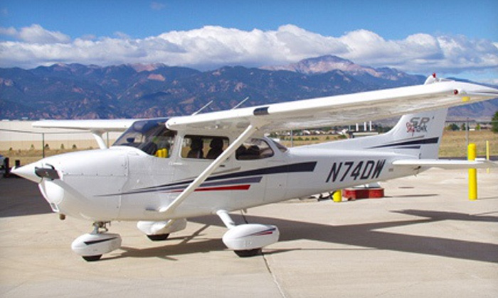 Peak Aviation Center - Colorado Springs: Standard Introductory Flight for One or Two at Peak Aviation Center (Up to 40% Off)