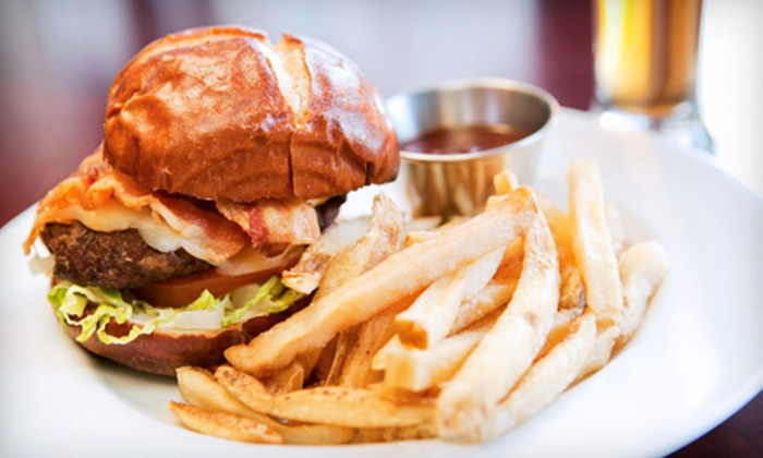 American Classic Tavern - Lawrenceville: Pub Grub and Drinks at American Classic Tavern in Lawrenceville (Up to 53% Off). Two Options Available.