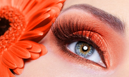 Natural Eyelash Extensions with Option for Eyebrow Shaping at Astute Artistry (Up to 68% Off)
