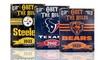 NFL Vintage Team Signs