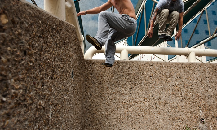 Urban Movement - Multiple Locations: Parkour Classes with One Month of Unlimited Open-Gym Access at Urban Movement (Up to 54% Off). Three Options.