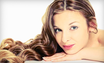 Haircut and Conditioning with Options for Color or Full Highlights at Fantastic Hair & Nail (Up to 58% Off)
