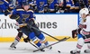 St. Louis Blues - Scottrade Center: St. Louis Blues Game at Scottrade Center on January 8, 13, or 19 at 7 p.m. (Up to 48% Off). Six Seating Options.