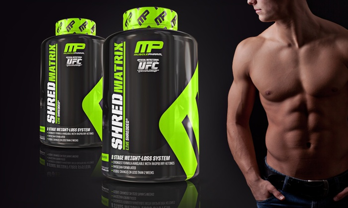 MusclePharm Weight-Loss Supplement: $44.99 for Two 120-Capsule Bottles of Shred Matrix Weight-Loss Supplement ($85.98 List Price). Free Shipping.