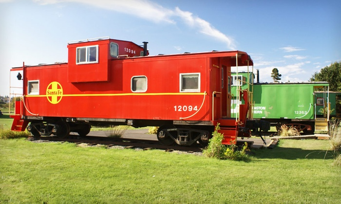 Red Caboose Getaway B&B - Sequim: One- or Two-Night Stay at Red Caboose Getaway B&B in Sequim, WA