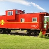 Stay at Red Caboose Getaway B&B in Sequim, WA