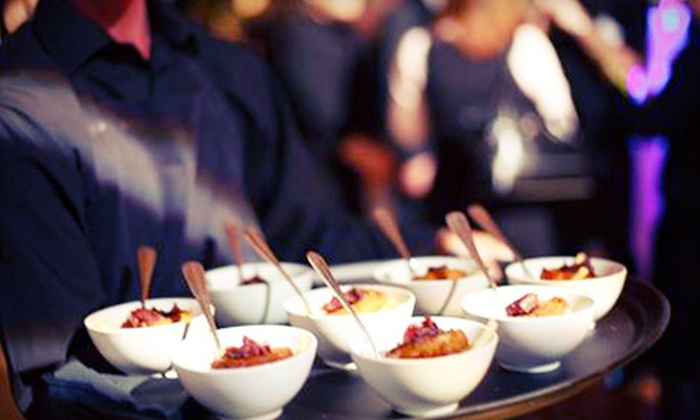 Temple Events & Catering - Downtown: Two or Four Shared Plates at Late-Night Eatery or Catered Party Package from Temple Events & Catering (Up to 77% Off)