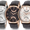 Lucien Piccard Verona Dual-Time Men's Watches