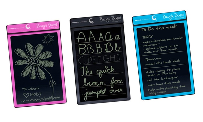 """Boogie Board 8.5"""" LCD Writing Tablet : Boogie Board 8.5"""" LCD Writing Tablet. Multiple Colors Available. Free Returns."""