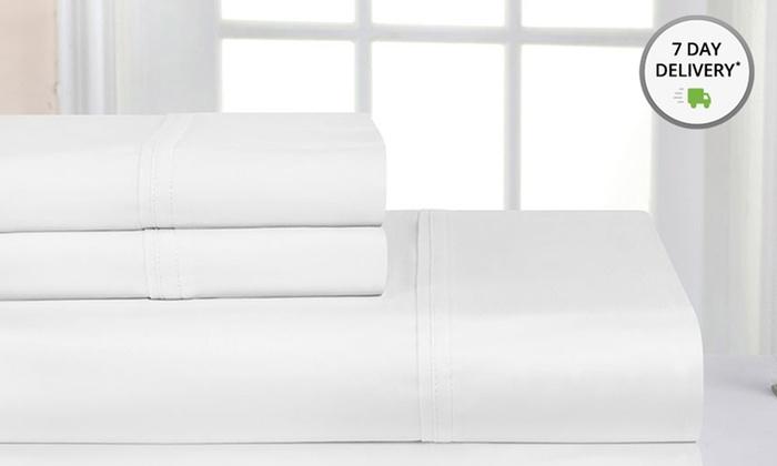 4piece pima cotton sheet set 1000thread - Pima Cotton Sheets