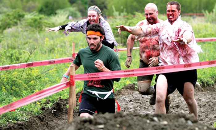 The Stampede - East Louisville: $30 for Apocalyptic Zombie-Escape Race Registration to The Stampede on Saturday, October 26 (Up to $60 Value)