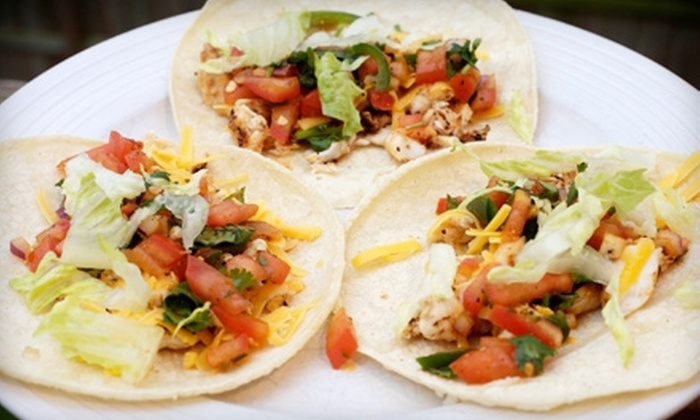 Oaxaca Taqueria - Multiple Locations: Three or Six Tacos or Enchiladas or Ten Tacos at Oaxaca Taqueria (Up to 58% Off)