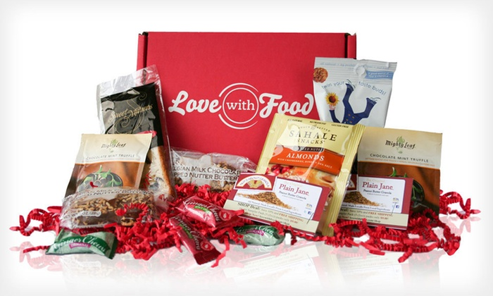 LoveWithFood Food and Snack Delivery: Three-Month Subscription for Gourmet-Food and Snack Delivery from LoveWithFood (Up to 52% Off). Free Shipping.