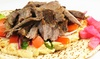 Harbor Greek Cafe - Midway District: Mediterranean Cuisine at Harbor Greek Cafe (Up to 52% Off). Three Options Available.