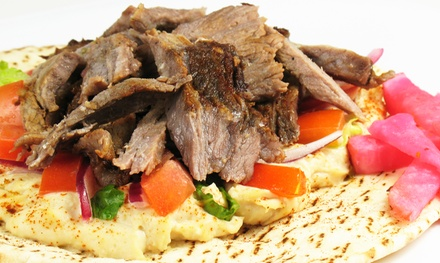 Mediterranean Cuisine at Harbor Greek Cafe (Up to 53% Off). Three Options Available.