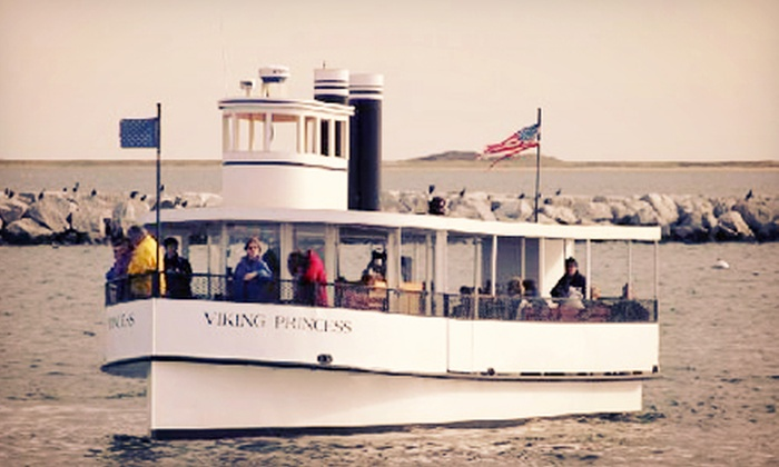 Viking Princess Cruises - Provincetown: 90-Minute Sunset Lighthouse Cruise for Two or Four from Viking Princess Cruises (Up to 55% Off)