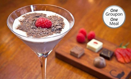 Date-Night Package with Small Plates and Dessert Martinis for Two or Four at AYZA Wine & Chocolate Bar (Up to 46% Off)
