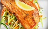 Nu Urban Cafe - St. Albans: Four-Course American-Cuisine Dinner with Small Plates and Dessert for Two or Four at Nu Urban Cafe (Up to 60% Off)