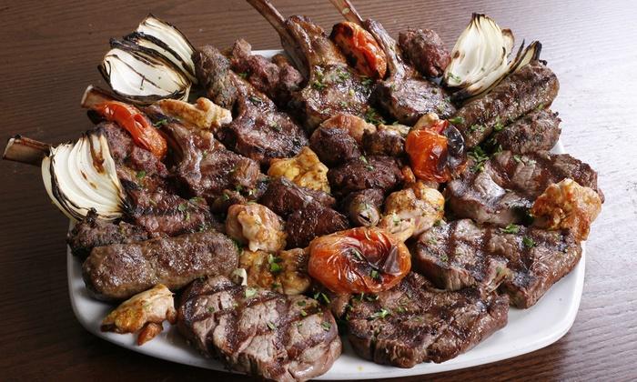 Itzik Hagadol Grill - Encino: $18 for $30 Worth of Israeli and Middle Eastern Food at Itzik Hagadol Grill
