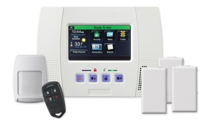 New World Solutions - Central Jersey: $45 for a LYNX Touch L5100 Alarm System with Installation from New World Solutions ($90 Value)