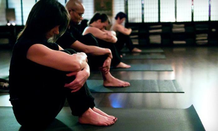 Rise Yoga Studio - Southwestern Sacramento: 5 or 10 Yoga Classes at Rise Yoga Studio (Up to 77% Off)