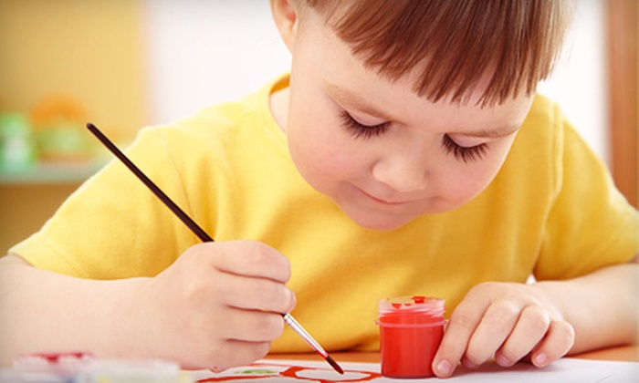 Abrakadoodle - Multiple Locations: Three-Hour Children's Art Workshop or Children's Art Birthday Party for Up to 10 from Abrakadoodle (Up to 67% Off)