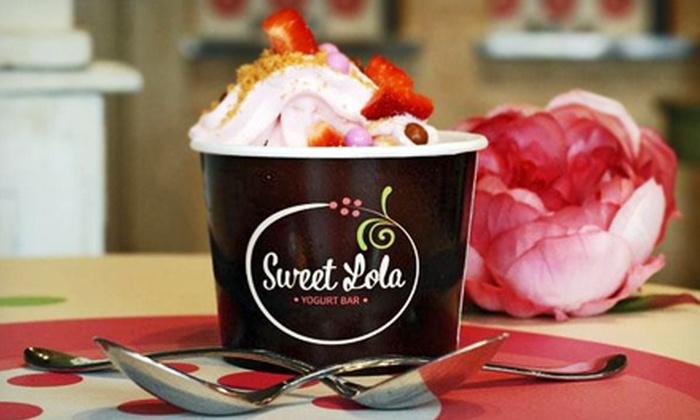 Sweet Lola Yogurt Bar - Midtown: $10 for $20 Worth of Frozen Yogurt at Sweet Lola Yogurt Bar