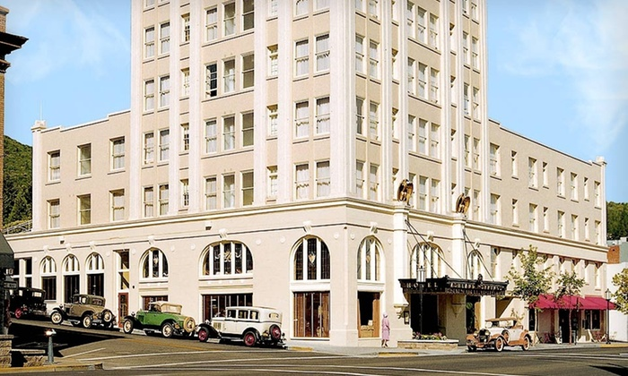 Ashland Springs Hotel - Ashland, OR: Two-Night Stay with Spa Treatments and Dining Credit at Ashland Springs Hotel in Rogue Valley, OR