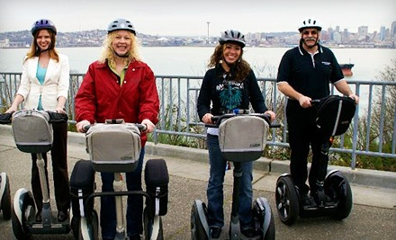 75-Minute Segway Tour of West Seattle for 2 (a $150 value) - West Coast Entertainment in Seattle