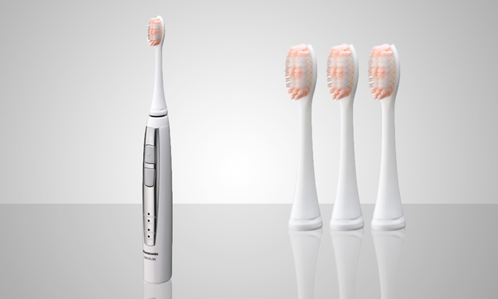Panasonic Sonic Vibration Rechargeable Toothbrush: Panasonic Sonic Vibration Rechargeable Toothbrush (EW-DL90QW). Free returns.