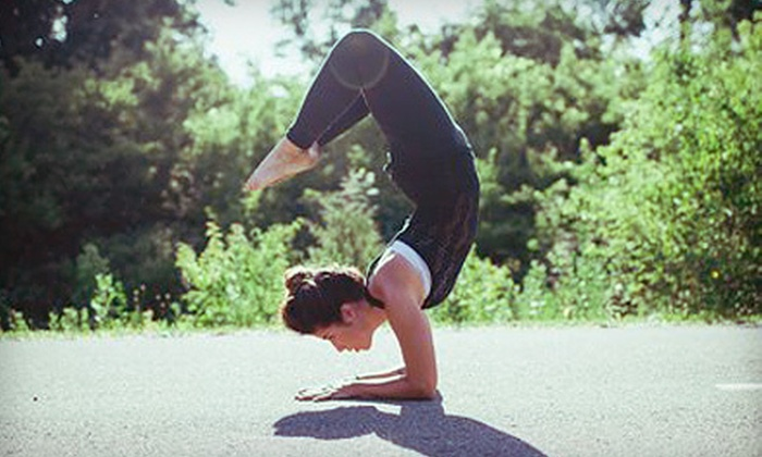 Thank Yoga Studio - Short North: Five Classes or One Month of Unlimited Classes at Thank Yoga Studio (Up to 55% Off)
