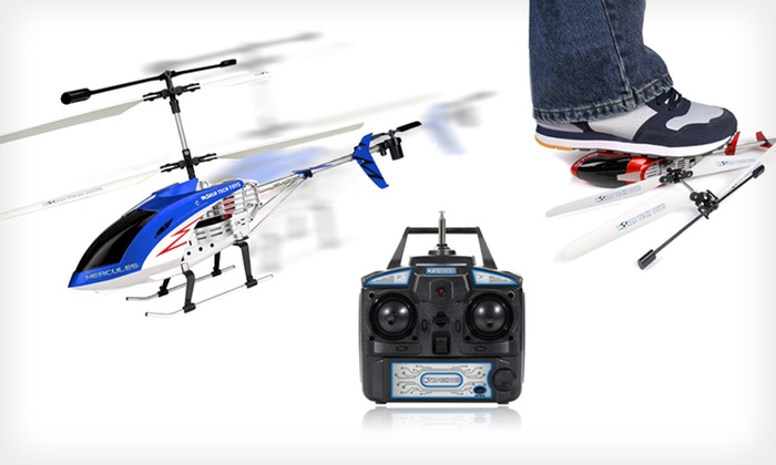 Hercules Unbreakable Helicopter: $49 for a Hercules Unbreakable RC Helicopter in Blue, Red, or Silver ($125 List Price). Free Shipping and Returns.
