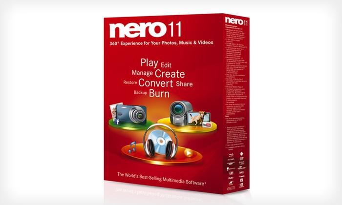 Nero 11 Multimedia Software Download: $25 for Nero 11 Multimedia Software ($99.99 List Price)