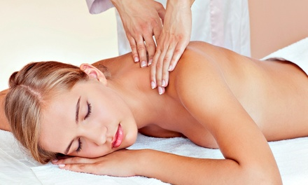 One or Two Upper-Body Massages with Facials at Oasis Therapy Massage & Bodywork (Up to 56% Off)