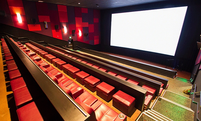 Cinetopia - Multiple Locations: $21.95 for a Movie Night for Two with One Drink Credit at Cinetopia (Up to $52 Value)